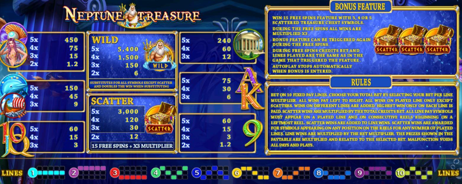 SlotXo-Neptunes-Treasure-โบนัส