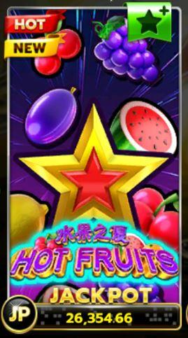 Slotxo-Hot-Fruits-เครดิตฟรี